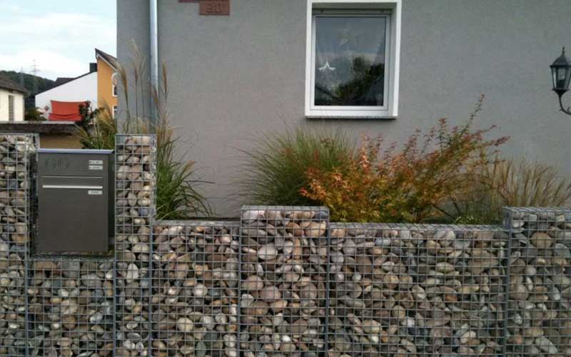 Gitttec gabionssystems separating and supporting walls - Gartentor selbstbau ...